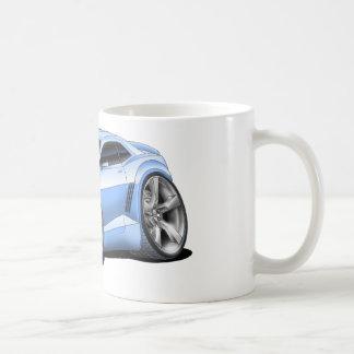 2010-11年のCamaroのLt Blue Car コーヒーマグカップ
