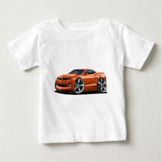 2010-12年のCamaroのオレンジ車 ベビーTシャツ