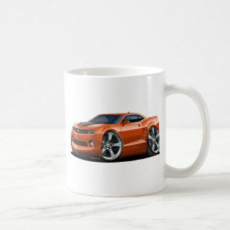2010-12年のCamaroのオレンジ黒い車 コーヒーマグカップ