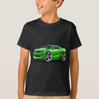 2010-12年のCamaroの緑白の車 Tシャツ