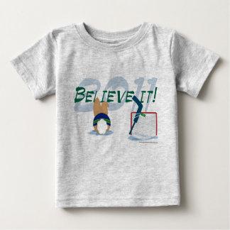 2011それにベビーのティーを信じて下さい ベビーTシャツ