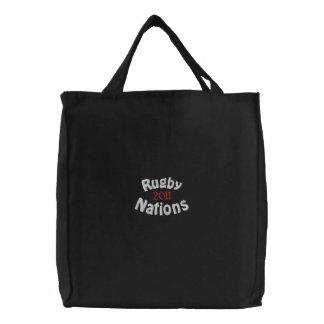 2011の愛国心が強いファンの商品 刺繍入りトートバッグ