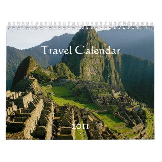 2011の旅行カレンダー カレンダー