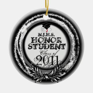 2011匹のオーナメントの銀の名誉学生賞のクラス セラミックオーナメント