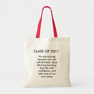 2011年のクラス、私達は…ある学習者を看護しています トートバッグ
