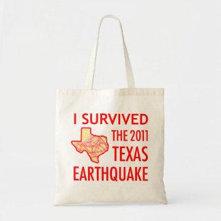 2011年のテキサス州の地震 トートバッグ