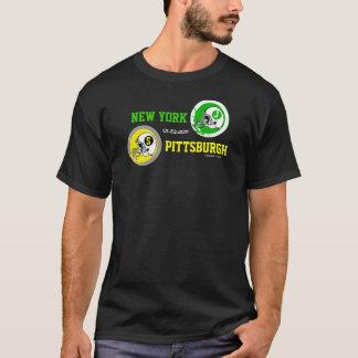 2011年のAFCはニューヨークを対ピッツバーグのTシャツむしゃむしゃ食べます Tシャツ