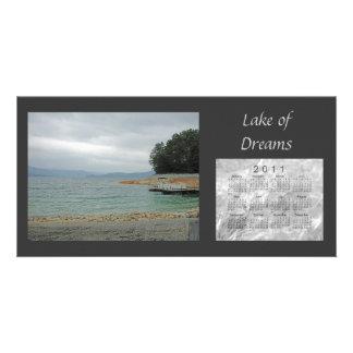 2011景色のカレンダー カード