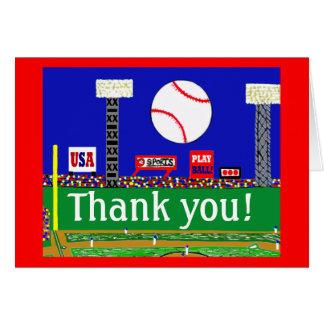 2012のかわいい子供のスポーツは注意しますギフトに感謝していしています カード