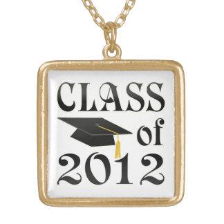 2012の媒体の金ゴールドの終わりのネックレスのクラス ゴールドプレートネックレス