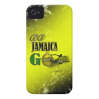 2012オリンピックのチームジャマイカファンのIphone 4/4Sの場合 iPhone 4 ケース