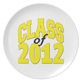 2012プレートのクラス プレート