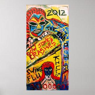 2012匹のブタのインフルエンザ ポスター