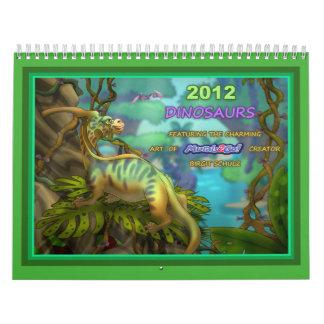 2012匹の恐竜 カレンダー