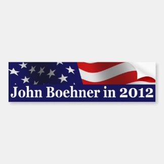 2012年にジョンBoehner バンパーステッカー