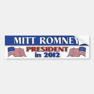 2012年にミット・ロムニーの大統領 バンパーステッカー