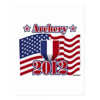 2012年のアーチェリー ポストカード