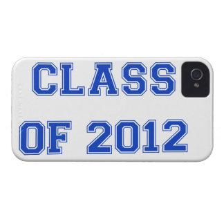 2012年のクラス-青 Case-Mate iPhone 4 ケース