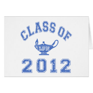 2012年のクラス(LPN) カード