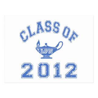 2012年のクラス(LPN) ポストカード