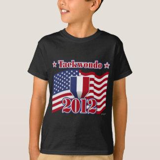 2012年のテコンドー Tシャツ