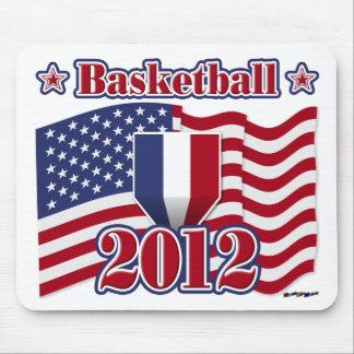 2012年のバスケットボール マウスパッド