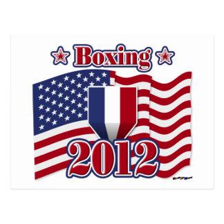2012年のボクシング ポストカード