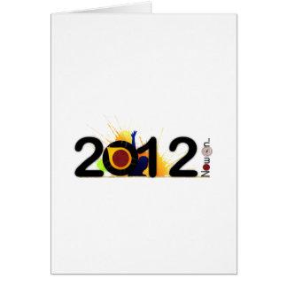 2012年の今新年。 カード
