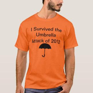 2012年の傘の攻撃 Tシャツ