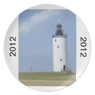 2012年の灯台 プレート
