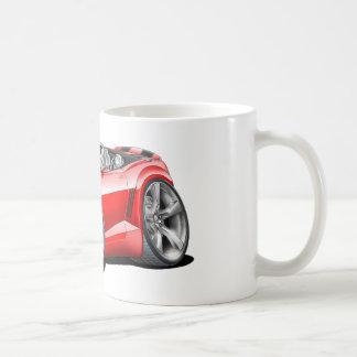 2012年のCamaroの赤黒いコンバーチブル コーヒーマグカップ