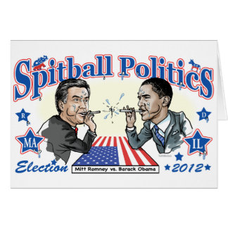 2012年のSpitballの政治 カード
