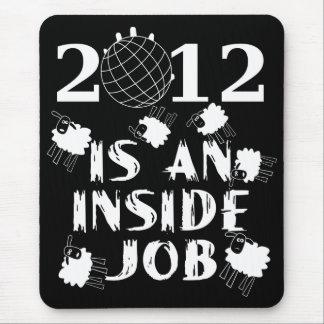 2012年は中仕事です マウスパッド