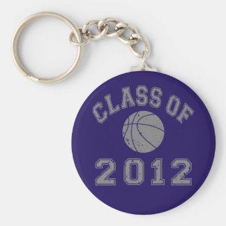 2012年バスケットボールのクラス-灰色2の キーホルダー
