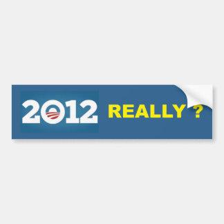 2012年実際にか。 バンパーステッカー