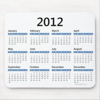 2012年次カレンダー マウスパッド