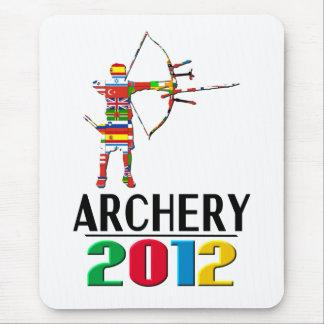 2012年: アーチェリー マウスパッド
