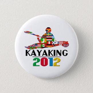 2012年: カヤックを漕ぐこと 5.7CM 丸型バッジ