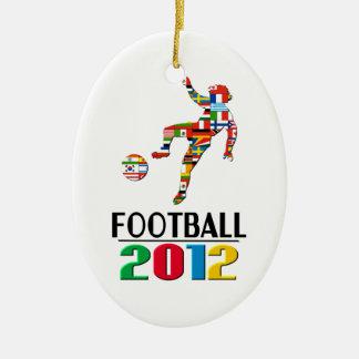 2012年: フットボールのオーナメント セラミックオーナメント