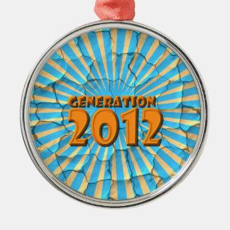 2012年 メタルオーナメント