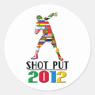 2012年: 砲丸投げ ラウンドシール