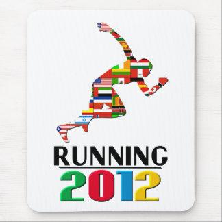 2012年: 走ること マウスパッド
