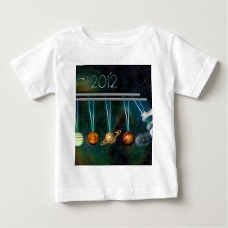 2012枚の運命日のTシャツ ベビーTシャツ
