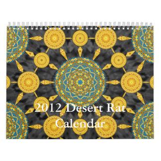 2012砂漠ラットのカレンダー カレンダー