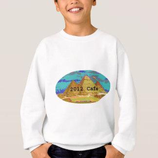 2012Cafeピラミッドのロゴ スウェットシャツ