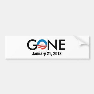 、2013の1月21日行く、オバマバンパーステッカー バンパーステッカー