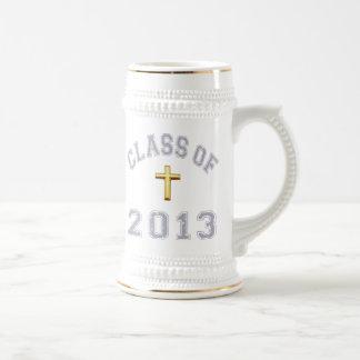 2013キリスト教の交差の灰色のクラス2 ビールジョッキ
