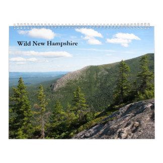 2013大きい野生のニューハンプシャーの壁掛けカレンダー カレンダー