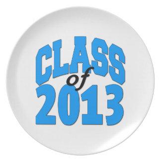 2013年のクラス(青) プレート