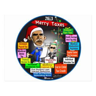 2013年のメリーな税 ポストカード